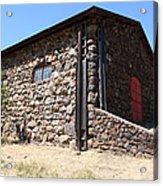 Stallion Barn At Historic Jack London Ranch In Glen Ellen Sonoma California 5d24580 Acrylic Print by Wingsdomain Art and Photography