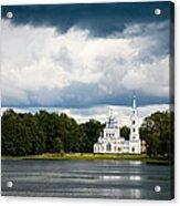 Stameriena Orthodox Church Acrylic Print