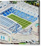 Stamford Bridge Stadia Art - Chelsea Fc Acrylic Print