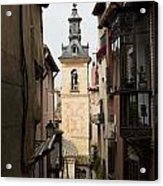 Stamped Bell Tower Acrylic Print
