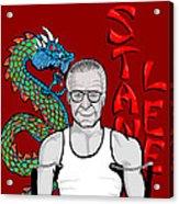 Stan Lee Acrylic Print by Gary Niles