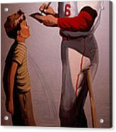 Stan Musial Mural Acrylic Print