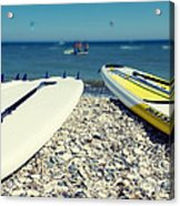 Stand Up Paddle Boards Acrylic Print