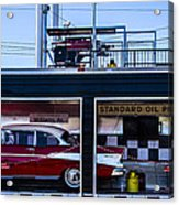 Standard Oil Products Acrylic Print