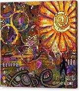 Standing On Hope Acrylic Print