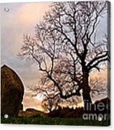 Standing Stones, England Acrylic Print