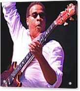 Stanely Clarke Bass Master Acrylic Print