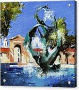 Stanford Claw Acrylic Print