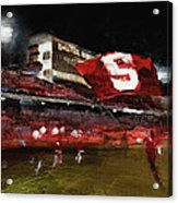 Stanford Nocturne Acrylic Print