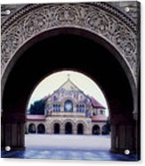 Stanford University Memorial Church Acrylic Print