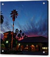 Stanford University Quad Sunset Acrylic Print
