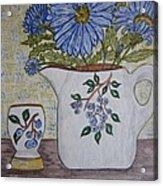 Stangl Blueberry Pottery Acrylic Print