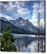 Stanley Lake View Acrylic Print