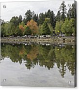 Stanley Park In Vancouver Bc Canada Acrylic Print