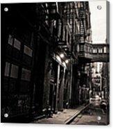 Staple Street - Tribeca - New York City Acrylic Print by Vivienne Gucwa
