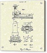 Stapler 1932 Patent Art Acrylic Print