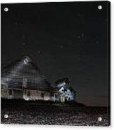 Star Barn Acrylic Print