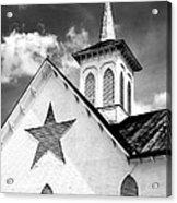 Star Barn Infrared Acrylic Print