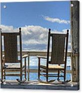 Star Island Rocking Chairs Acrylic Print