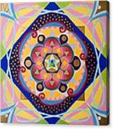 Star Mandala Acrylic Print