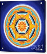 Star Of Energy Acrylic Print