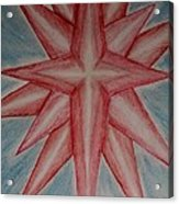 Star Of Hope Acrylic Print
