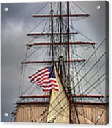 Star Of India Stars And Stripes Acrylic Print