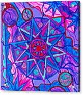 Star Of Joy Acrylic Print