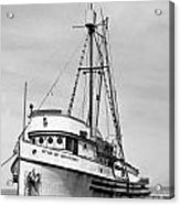 Star Of Monterey In Monterey Harbor Circa 1948 Acrylic Print