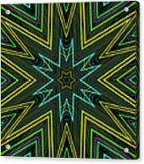 Star Of Threads Acrylic Print
