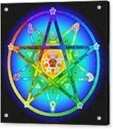 Star Sense Creation Acrylic Print