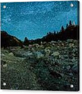 Star Showers Acrylic Print