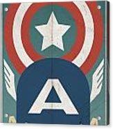 Star-spangled Avenger Acrylic Print
