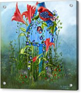 Star Spangled Birdie Acrylic Print