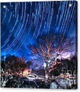 Star Trails On Acid Acrylic Print