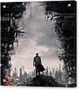 Star Trek Into Darkness  Acrylic Print by Movie Poster Prints
