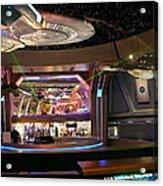 Star Trek The Experience Acrylic Print by Keith Stokes