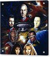 Star Trek Tng Acrylic Print
