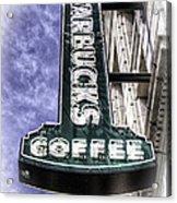 Starbucks - Ballard Acrylic Print