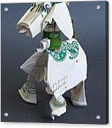 Starbucks Dog Acrylic Print
