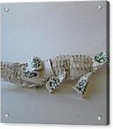 Starbucks Gator Acrylic Print