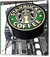 Starbucks Logo Acrylic Print