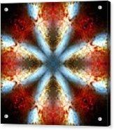 Starburst Galaxy M82 V Acrylic Print