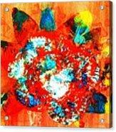 Starburst Nebula Acrylic Print