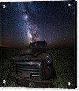 Stardust And Rust Gmc  Acrylic Print