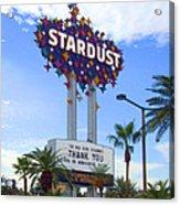 Stardust Sign Acrylic Print