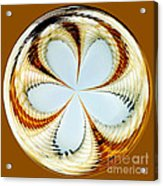 Starfish To Flower - Orb Acrylic Print
