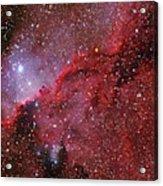 Starforming Emission Nebula Ngc 6188 Acrylic Print