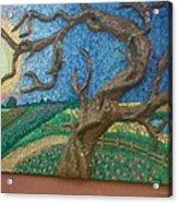 Stark Tree. Acrylic Print by Geetanjali Kapoor