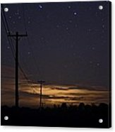 Starlight At Night Acrylic Print